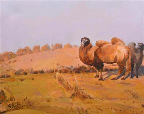 《金色沙丘》50×60cm