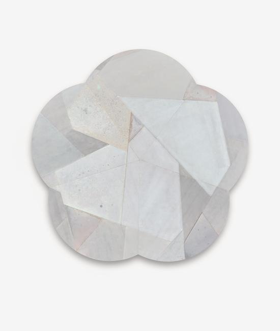 王豪 远201809 2018 木板上综合材料 160×160cm