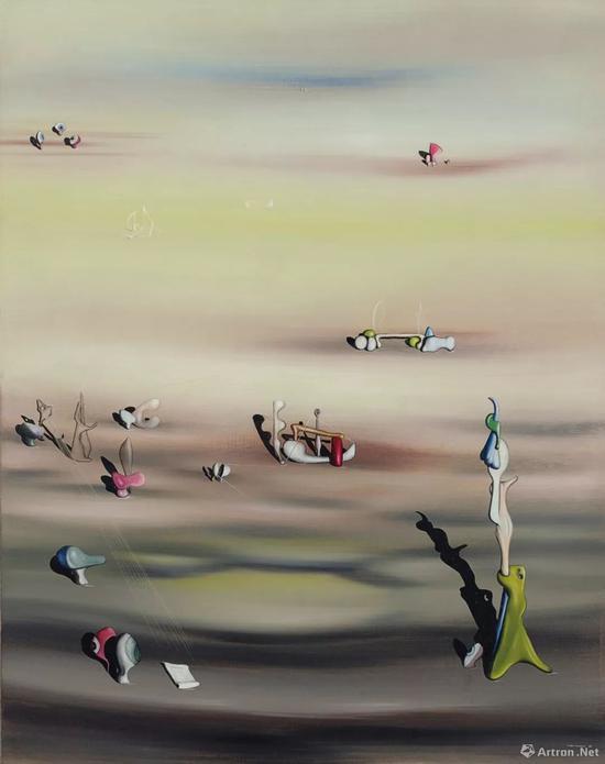伊夫·唐吉(1900-1955)《物种灭绝 II》 1938年作