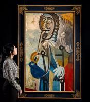 毕加索《男子与烟斗》的魄力与创意