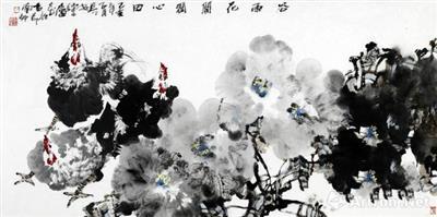 """""""素颜无华 天心相照""""西安美术学院院长郭线庐花鸟画赏析"""