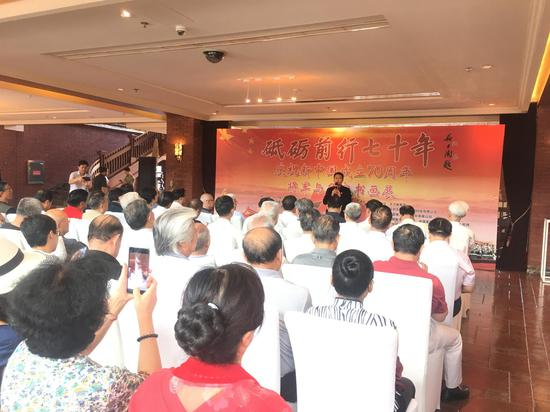 深圳市国奥源生物科技有限公司董事长林铂淳先生讲话