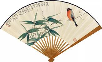 中国扇画:翠华九折 霓虹氤氲