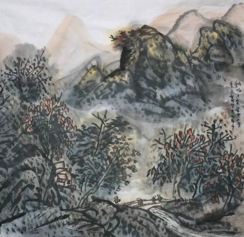 四川画家宋智明作品赏析