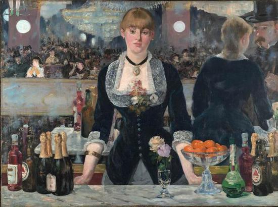 《弗里-贝尔杰酒吧》,1882