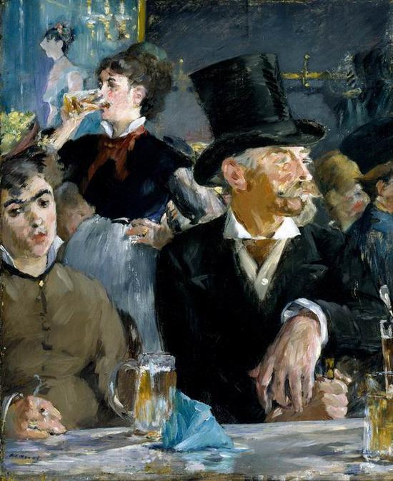 《咖啡厅演奏会》,1879