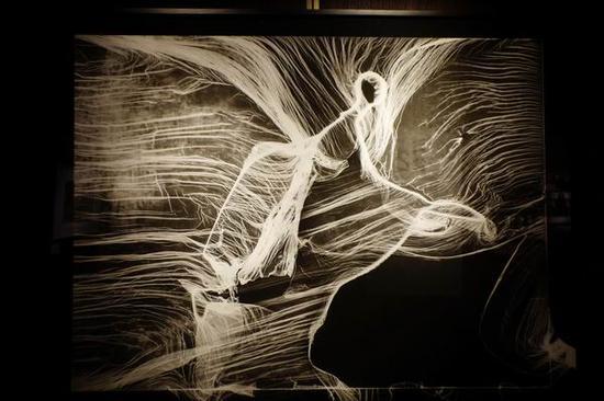 张甬江作品附:参展者集体创作的《上海纪实长卷》(请横屏阅读):