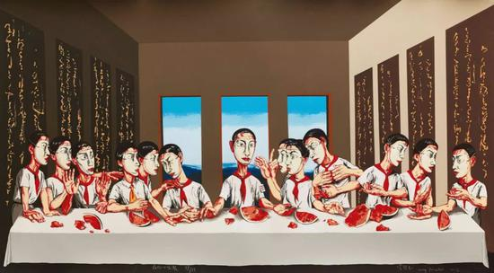曾梵志《最后的晚餐》1.8亿港元