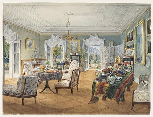 世纪室内装饰画展