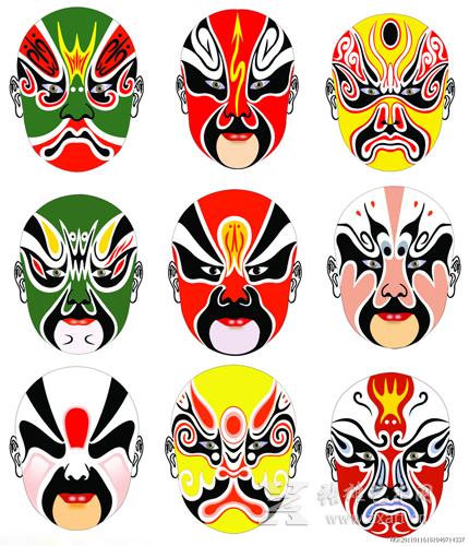 一个做工精细,品相完好的京剧脸谱艺术品,其行情年年看涨.图片