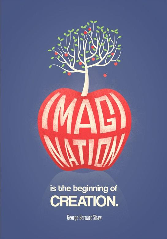 想象力是创造的开始。