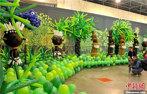 气球造型动物植物