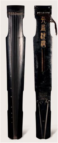 仲尼式古琴98.9万元成交图片