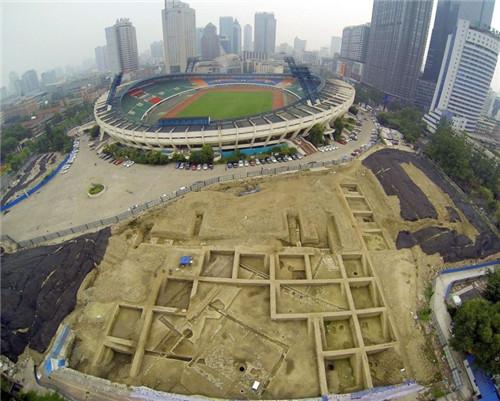 成都体育中心庭院遗址考古