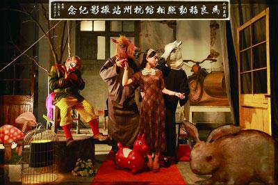 马良移动照相馆杭州站留影-艺术众筹未来的路会在何方
