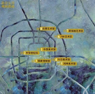 北京路线图