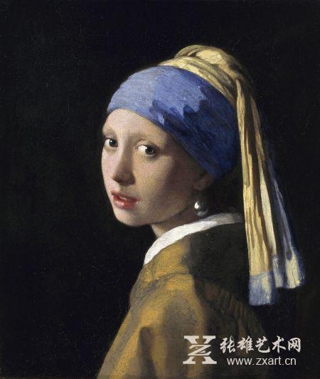 维梅尔名画《戴珍珠耳环的少女》将寸步不离美术馆 不再外借