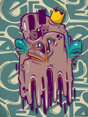 Georgi Dimitrov - Erase 的插画作品