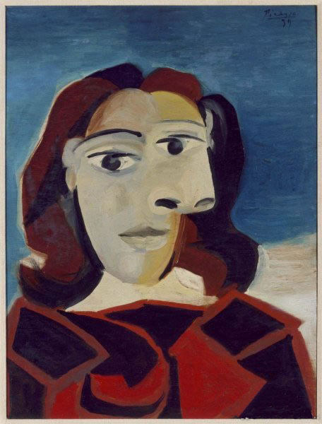 《Portrait of Dora Maar》毕加索