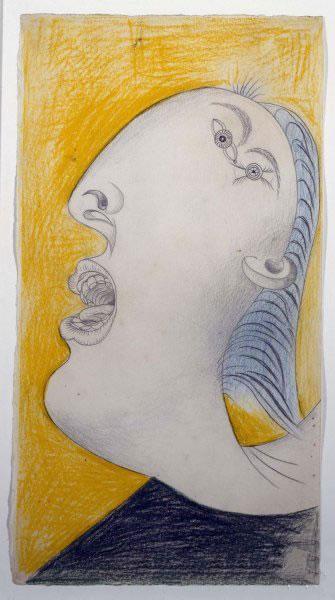 《Woman's Head》毕加索