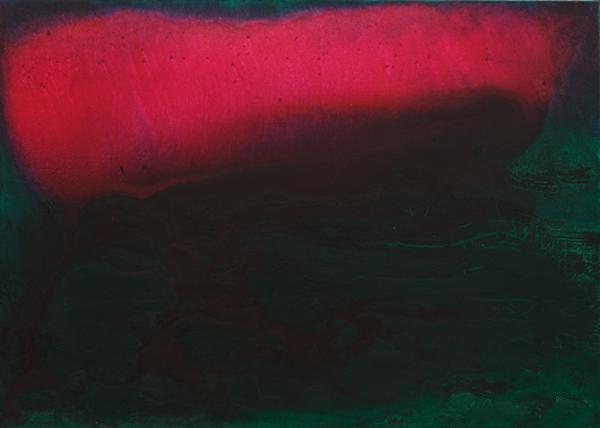 《祂的云》 马路 100×140cm 2013