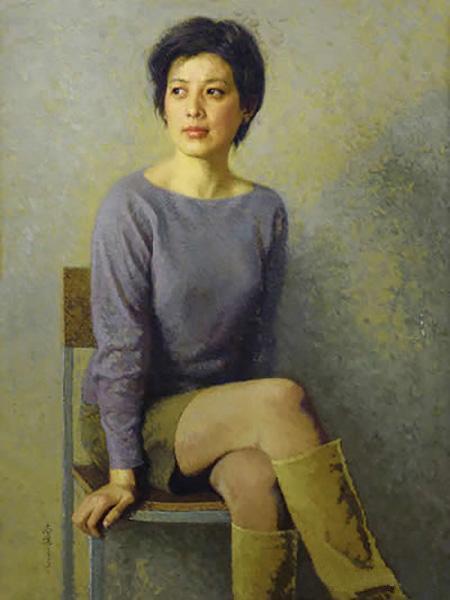 《一个朋友的肖像》 靳尚谊