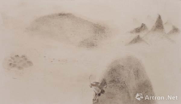 《隐山集-二月初八》 卞青 140cm x 80cm 2014