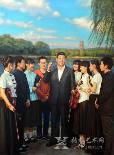 中国梦 足球梦 背后 习主席 艺术家与球迷的故事