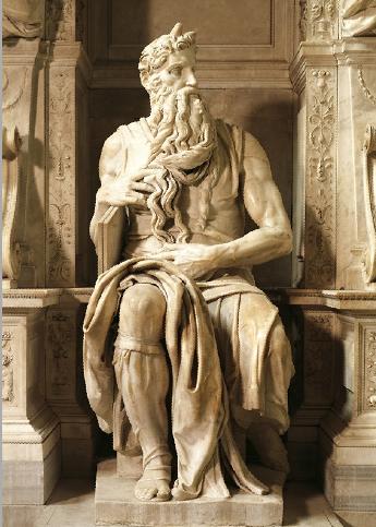 米开朗基罗《摩西像》