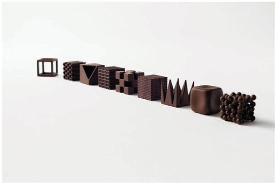 原标题:情人节的暖心设计Nendo创意巧克力分享   Nendo是由日本设计师佐藤大于2002年设立于日本的设计工作室,设计领域广泛,于东京及米兰皆设有办公室。成立至今除获无数外,还被选为newsweek杂志世界最受尊敬之100位日本人、全球最受瞩目企业100家等。   佐藤大不但是位有着非凡创意和才华的年轻设计师,同时也是位极具领导才能的管理者和经营者。他广纳设计精英,服务范围包括建筑、室内、产品、家具、包装和平面设计等等。