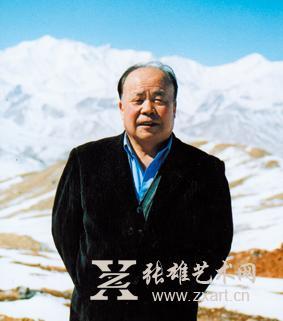 著名中国画画家韦自强