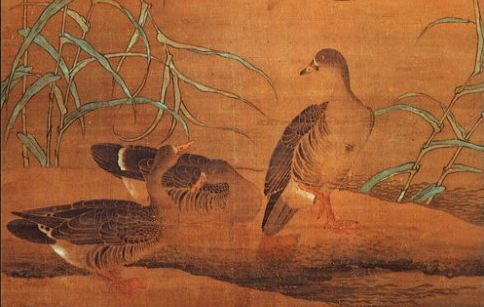 黄居寀《芦雁图》