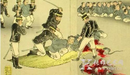 战争和平青少年画报手绘