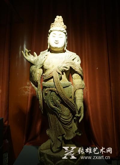 """""""古刹佛影""""宋代木雕佛像展在京举办"""