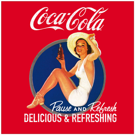 复古的可口可乐广告大合集