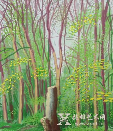 大卫·霍克尼:半世纪最有识别度的画家