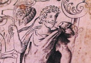 格里菲斯表示,这幅画像应该是目前已知唯一的莎士比亚在世时绘制的肖像