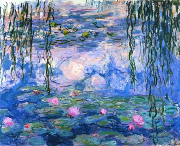 莫奈作品-相比中国当代艺术 西方古典艺术是否更值得收藏