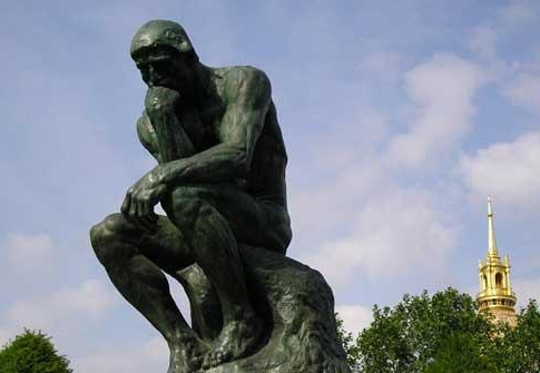 罗丹美术馆museum rodin - 罗丹杰作:思想者雕塑