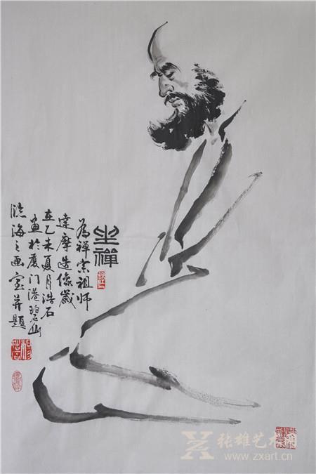 写意国画_笔墨文心 独逞芳菲——杨浩石写意国画赏析