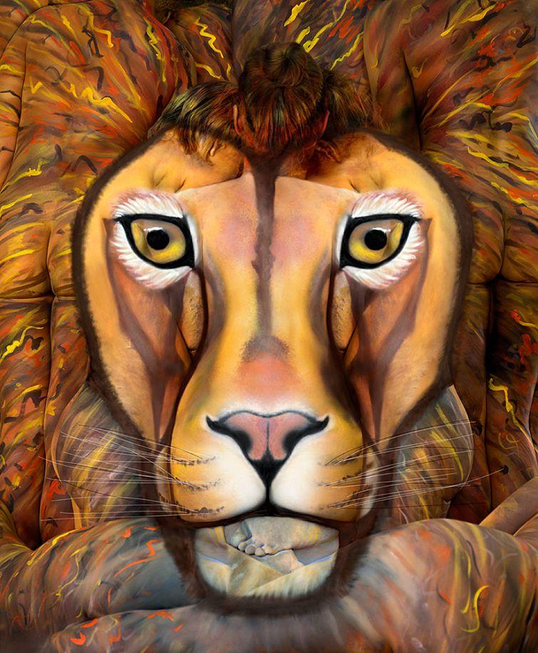 欧美狮子男高清头像
