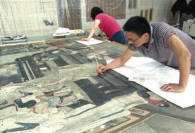 """故宫的""""古书画装裱修复技术""""被列为""""国家级非物质文化遗产"""""""