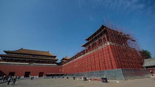 """为纪念故宫90周年院庆,在午门和两座燕翅楼将举办""""普天同庆——清代万寿盛典展"""""""