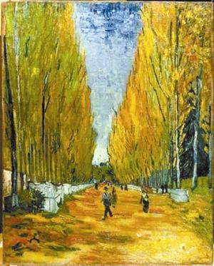 今年5月,梵高画作《阿里斯冈》拍卖出6600万美元的高价。