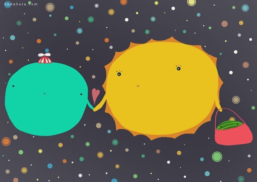 hajnalka的可爱行星漫画欣赏
