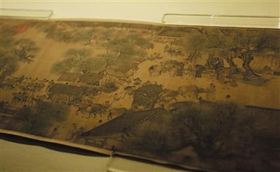 所有作品图均为局部。《清明上河图》成为了大众认知中国古画的经典符号。