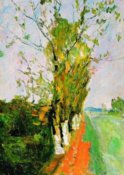 金秋(油画) 91×65厘米 1999年 罗尔纯