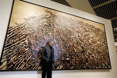 """许江艺术大展""""东方葵Ⅱ——来自葵园大地的报告""""将在上海举办"""