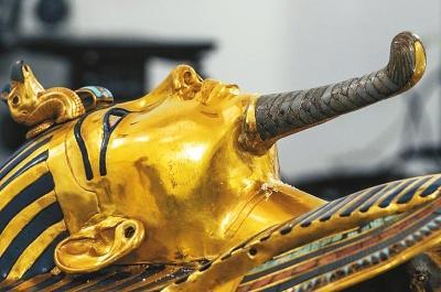 图坦卡蒙的金面具资料图片