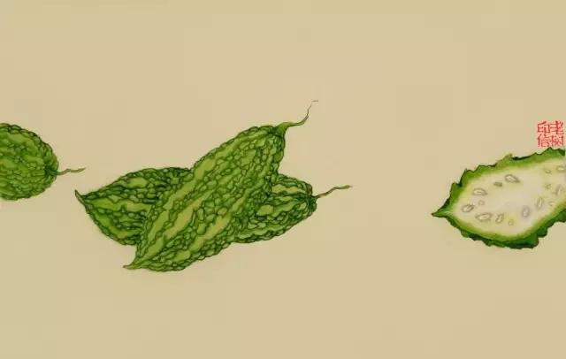 老树画画关于食物的诗与画(图)
